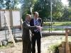 Prezydent Gdańska Paweł Adamowicz odwiedził w dniu 22.08.2011r. nową siedzibę