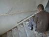 Schody na I piętro wymagają gruntownej renowacji