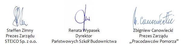 podpisy Steico
