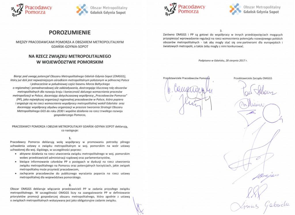 Porozumienie 29.08.2017