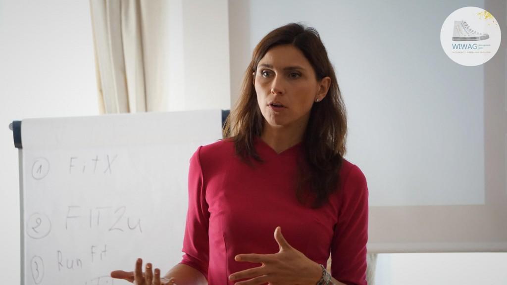 Dzień drugi WIWAG (19.09). Katarzyna Richter z Deal With Culture, firmy szkoleniowo-doradczej z zakresu komunikacji międzykulturowej.