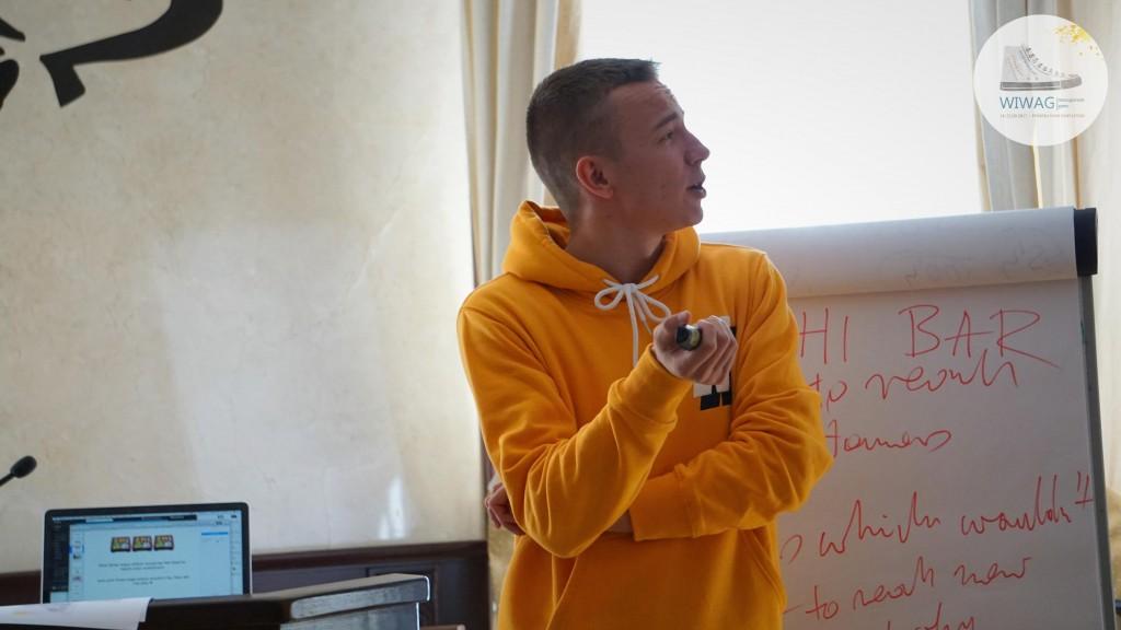 Dzień drugi WIWAG (19.09). Bartłomiej Rogacewicz, Pełnomocnik Zarządu ds. marketingu internetowego w Instytucie Badawczy Innowacyjnych Technologii Sp. z o.o.