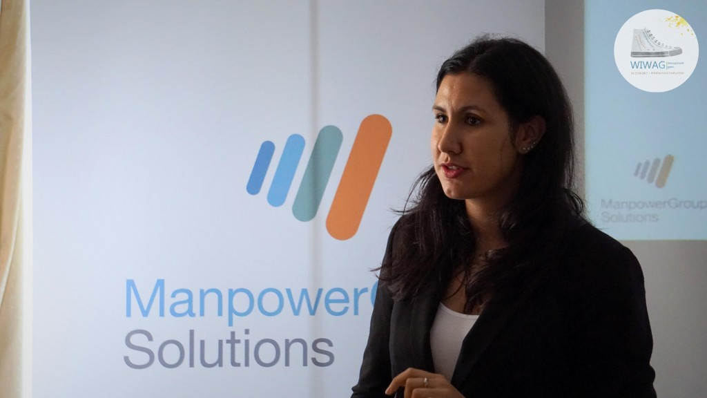Dzień czwarty WIWAG (21.09). Sandra Baruffi, Talent Acquisition Specialist w ManpowerGroup Solutions.