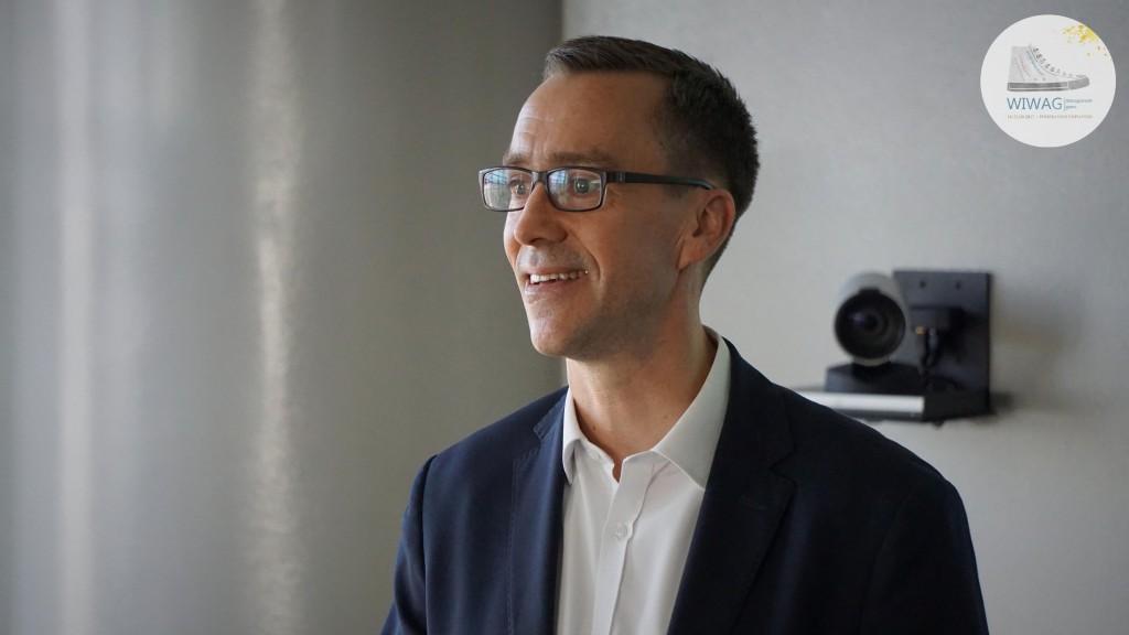 Dzień trzeci WIWAG (20.09). Alex Ticehurst, Dyrektor State Street Gdańsk.