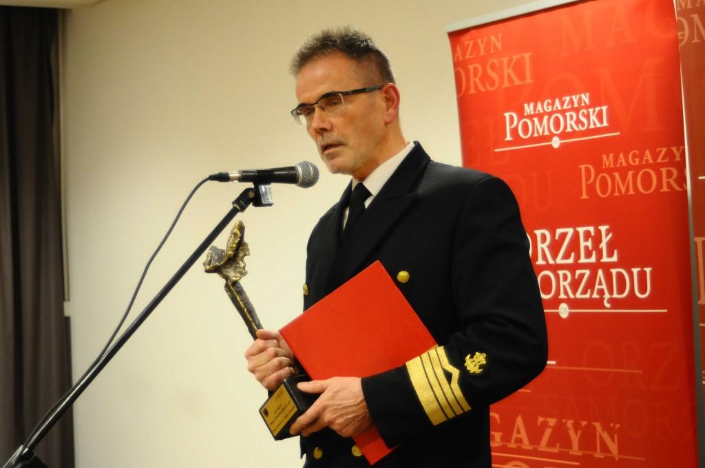 Prof. dr hab. inż. Janusz Zarębski, Rektor Akademii Morskiej w Gdyni (fot. Magazyn Pomorski)