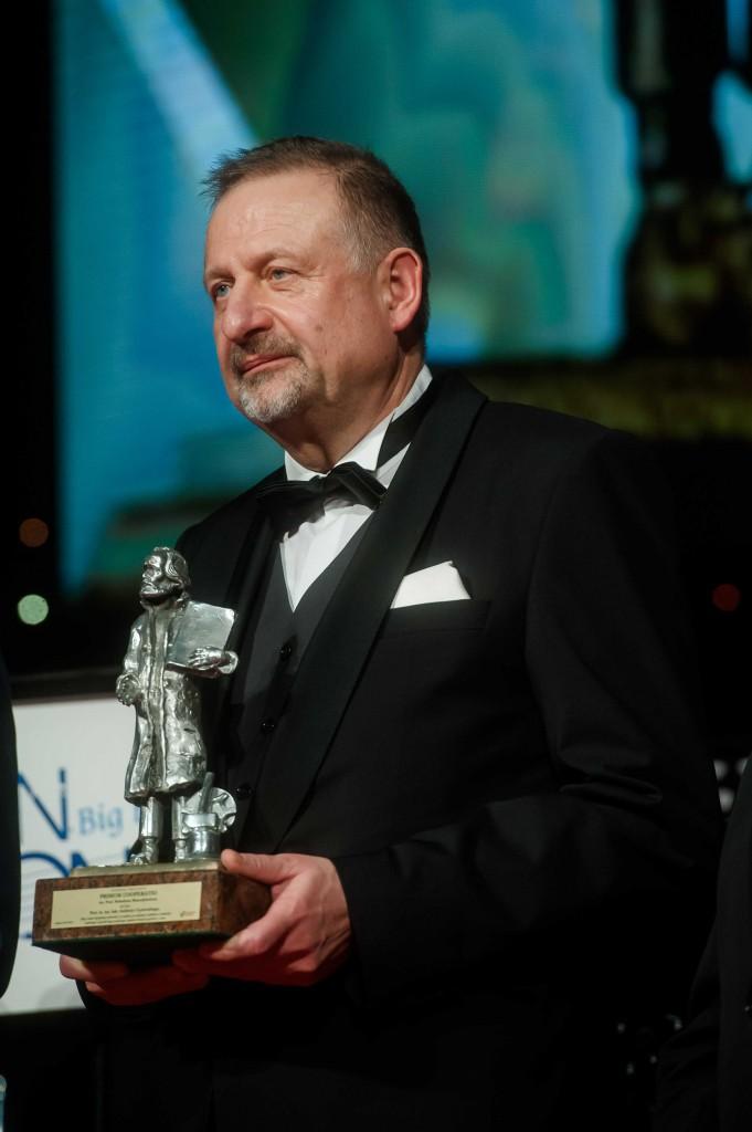 Prof. dr. hab. Andrzej Czyżewski / fot. Kosycarz Foto Press