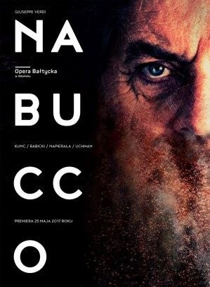 Nabucco_Opera Baltycka w Gdansku_plakat