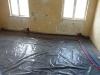 Układanie instalacji c.o w pomieszczeniach