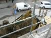 GPEC dokonujący podłaczenia budynku do miejskiej sieci cieplnej
