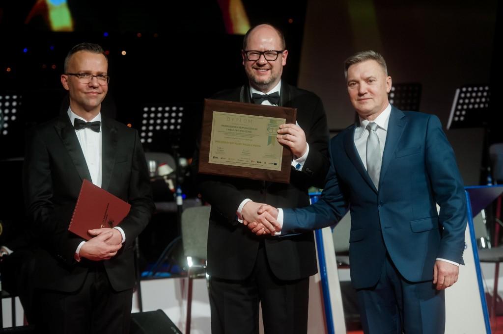 Z prawej strony Prezes Spółdzielni Socjalnej Dalba z Pucka Janusz Golisowicz / fot. Kosycarz Foto Press